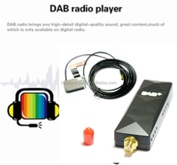 Best quality adapter that adds DAB radio to any existing car receives digital radio signals