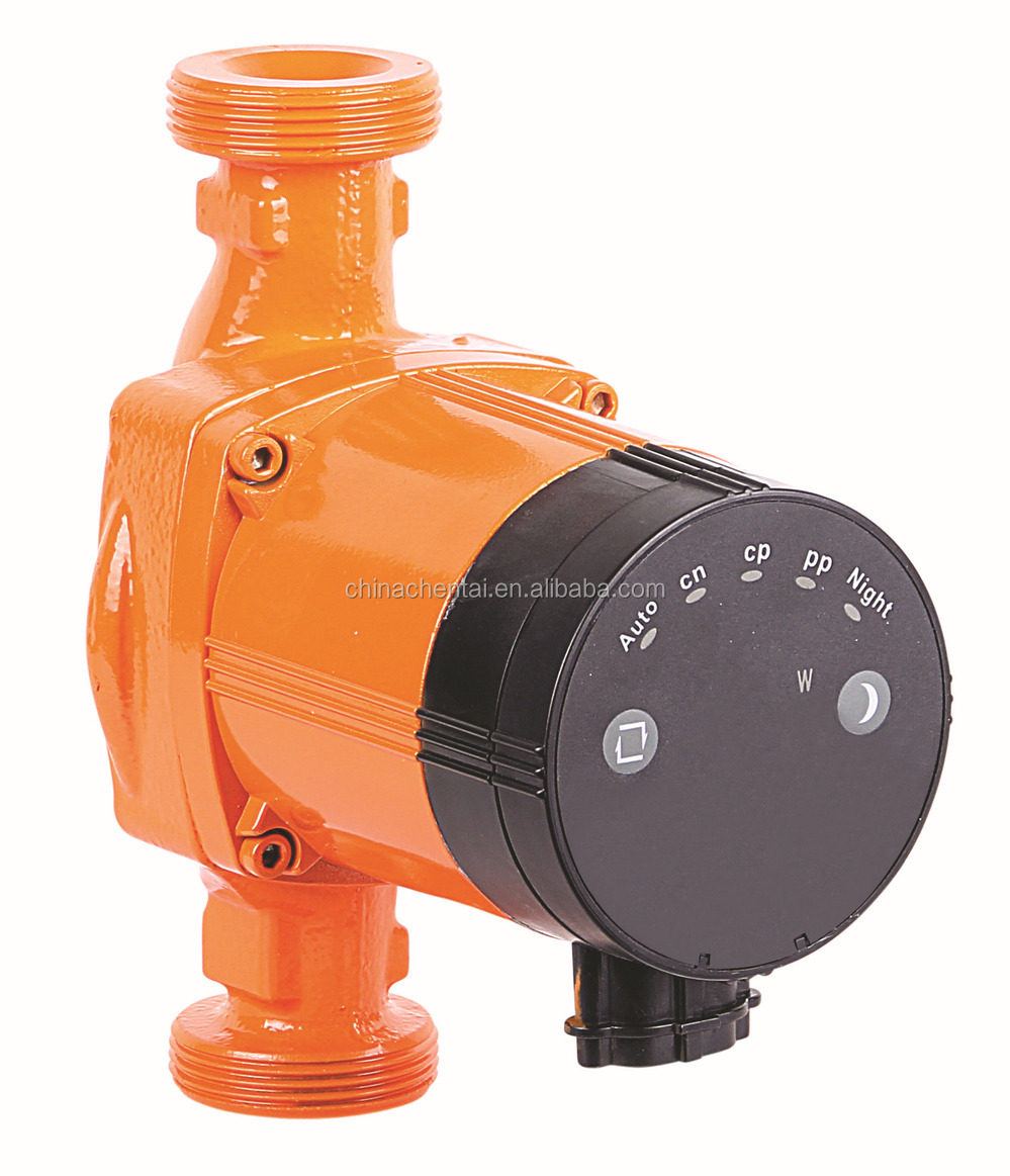 New high Efficient circulated pump 25/6-180 1inch 180mm hot water circulation pump(CE)