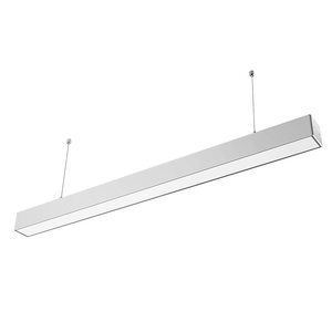 LED tube/linear LED light with L/X-jonction