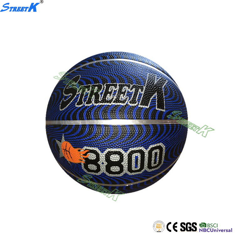 STREETK Hot sell new products rubber basketball game of basketball