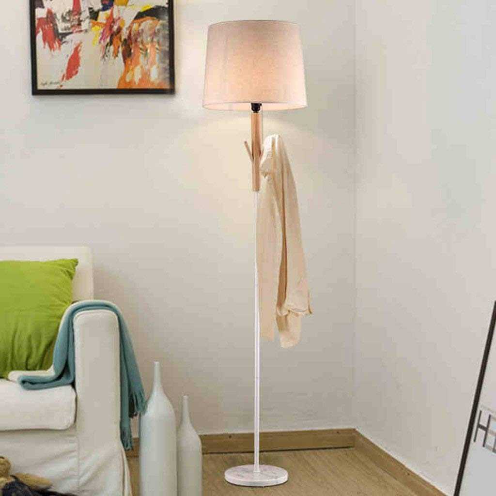 DEED Floor Lamp-Led Creative Creative/Solid Wood/Bedroom / Bedside/Floor Lamp/American / Living Room/Study / Home/Floor Lamp Eye Protection Vertical Table Lamp