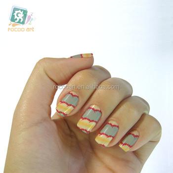 K5701bwater Transfer Foil Nails Art Sticker Halloween Pumpkin