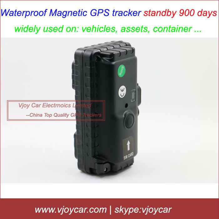FREE shipping! 900 days long battery life gps tracker with IPX7 waterproof and powerful magnet, support voice monitor remotely!