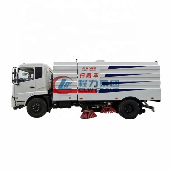 CLW high quality 10cbm 12cbm vacuum road sweeping truck