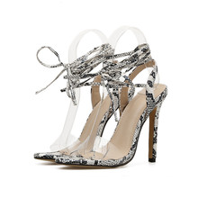 b503d46934 Add to Favorites. cheelon shoe 2018 snakeskin clear pvc high heel ladies ...