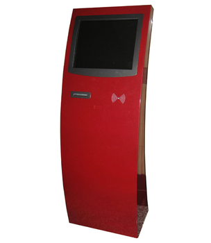 Lcd kiosk machine with touch screen