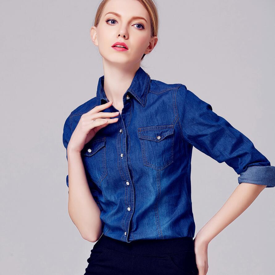 Camisa Vaquera Mujer - Compra lotes baratos de Camisa