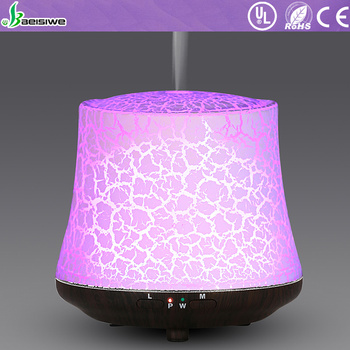 Newest smart electric air freshener 7 color led light decorative aroma ultrasonic essential oil diffuser
