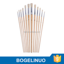 Oil Painting Bristle Paint Brush Manufacturers China