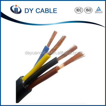 Dy Flexible 1.5mm/2.5mm Solid And Stranded Electrical Wire Pvc ...