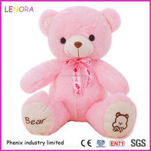 Factory Popular low price pink large size bear plush toy cute custom design bear toy