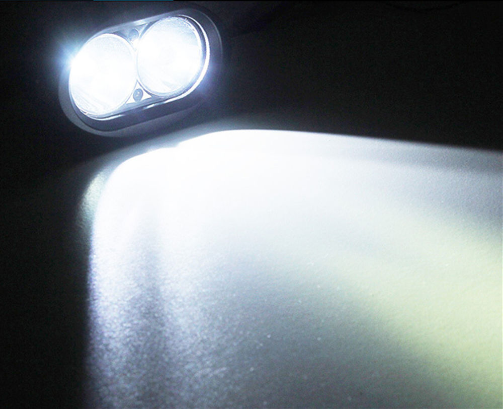 20W Safety White Blue Spot Work LED Light For 4WD