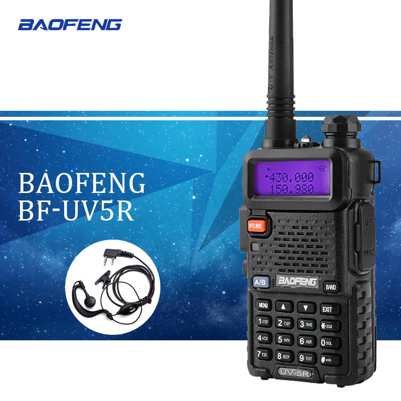 Baofeng UV-5R Talkie-walkie Baofeng UV5R Bi-bande Radio Bidirectionnelle