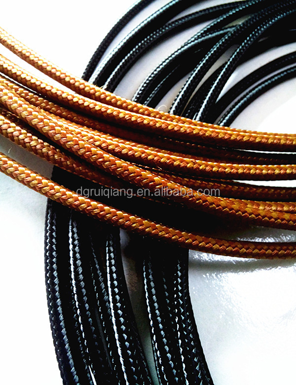 Cable Sheath PP Cotton Braided Sleeves Cable Sleeving