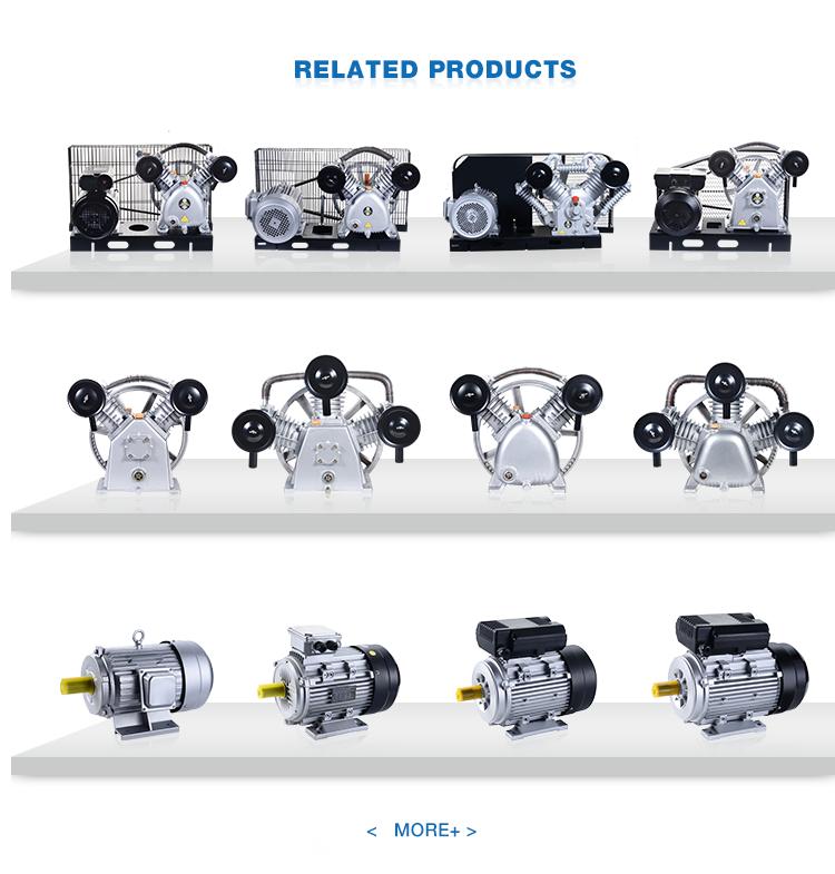 Top leverancier beste prijs Italië type 2 cilinder 3kw pomp luchtcompressor onderdelen