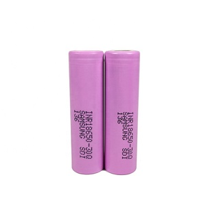 Wholesale Rechargeable Samsung INR 18650-30Q 3000mAh Lithium Battery Pink 30A 3.7v Li-ion 18650 Battery Samsung 30Q