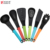 6 Pieces Heat Resistant Kitchen Utensils Tools Colorful competitively priced Kitchen Nylon Utensils TPR