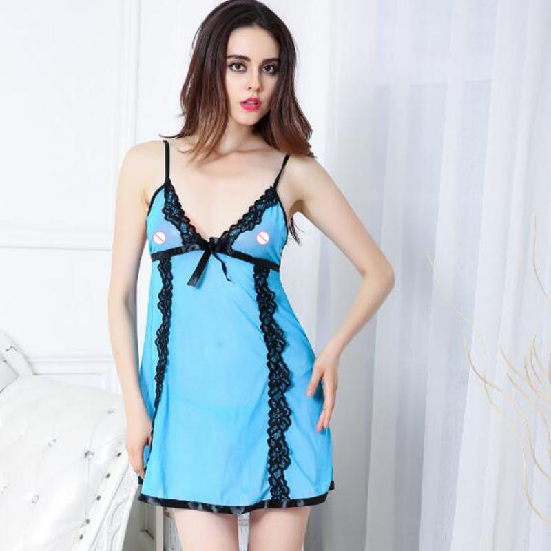 8f1aada912e9 V Neck Black Lace Babydoll Lingerie Sleepwear With Black Bowknot - Buy Lace  Babydoll Lingerie