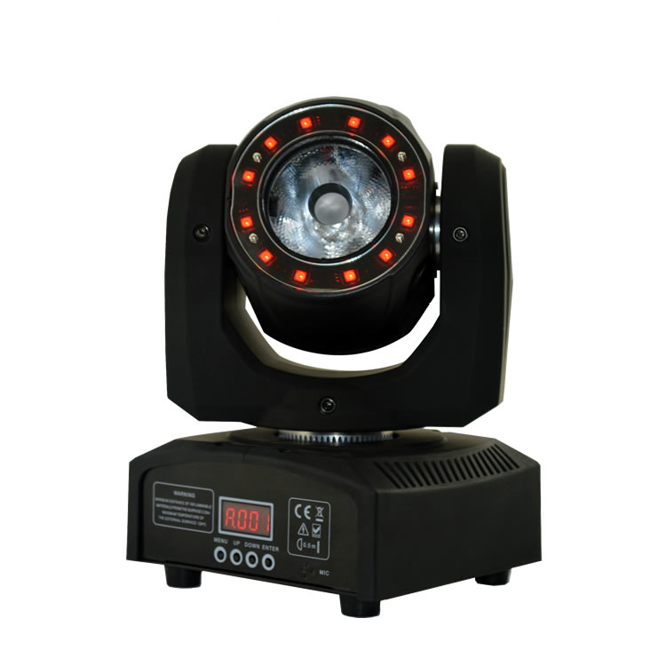 Disco Party Light 40W Color Changeable Led Mini Moving Head Light