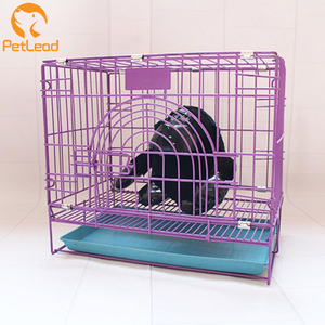 Folding dog cage pet cage wire mesh reptile cage