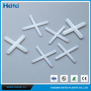 Haitai China Wholesale Hot Selling White 2-10mm Various Size Plastic Tile Cross Spacers