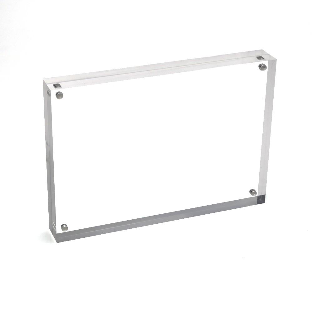4x6 5x7 6x8 8x10 Double Sided Glass Photo Frame Magnet - Buy 4x6 5x7 ...