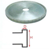 China Manufacturer glass cup grinding diamond wheel
