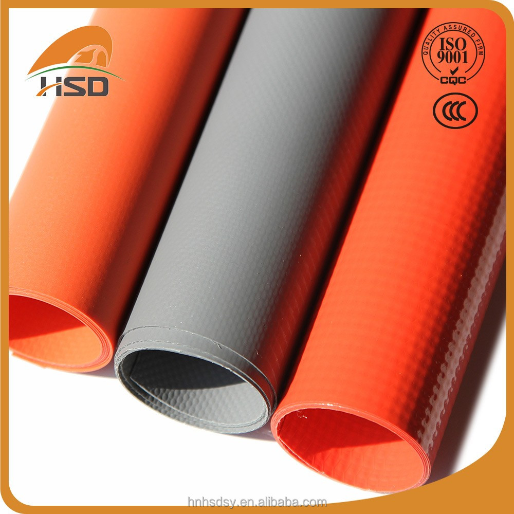 Wholesale 1100gsm waterproof fire resistant fabric tarpaulin roll