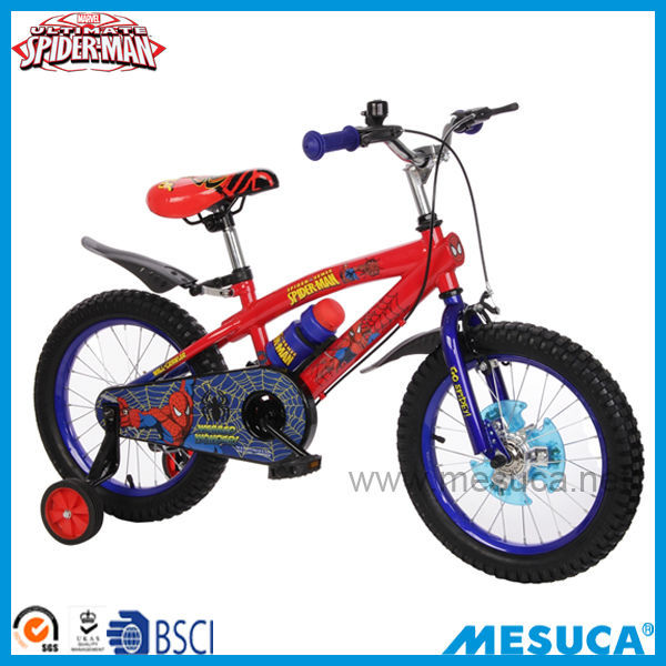 "Marvel 16"" rubber tire balance kids bicycle DCX31057-S"