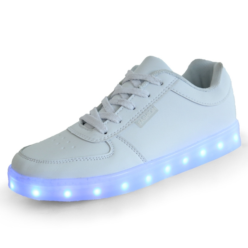Wholesale Women Led Sneakers Usb Charging Lights Shoes Leisure ...