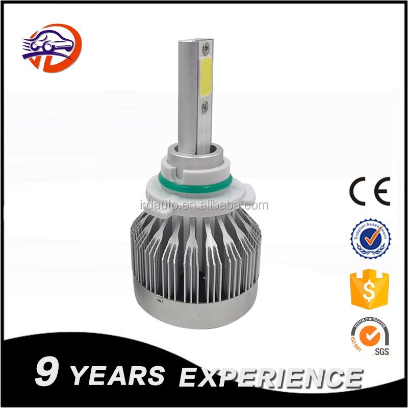 car light fanless led bulb auto parts lamp car headlight C1 led headlight 26w 3600lm