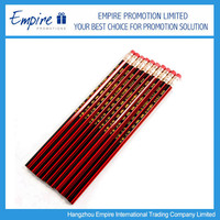 Wholesale Promotional Cheap Black pencil with logo