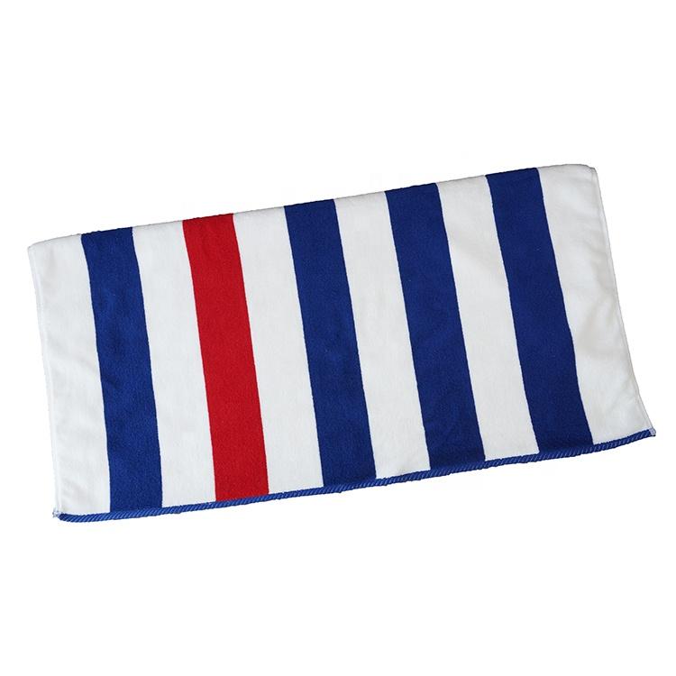 Wholesale Bulk Custom Striped Beach Towels Hotel Pool Towels Buy