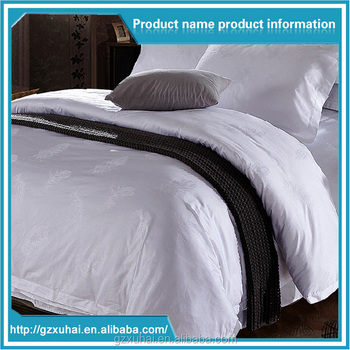 100% Cotton 200thread Count High Quality Hotel 4 Piece Bed Sheet Set   High  Thread