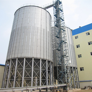 Professional Manufacturer Various Capacity Hot sale Stainless Steel Hopper Silo Price For Malt