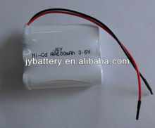 nicd aa 500 battery pack used in cordless phone, solar lighting, shaver, emergency lighting
