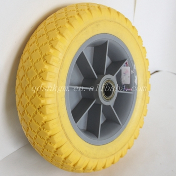 3.00-4 10 Inch Polyurethane Foam Wheel Solid Tires For Children's Car Baby Stroller Toys and Other Special Vehicle