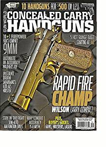 Get Quotations GUN WORLD CONCEALED CARRY HAND GUNS FALL 2015 FROM THE EDITORS OF