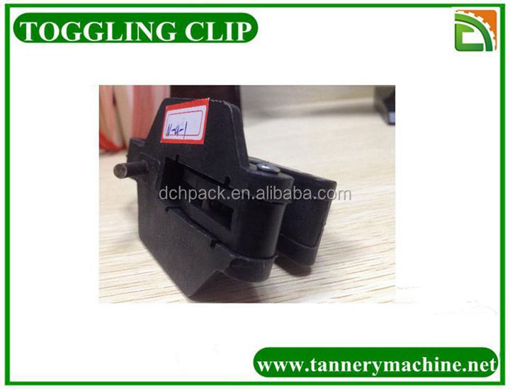 nylon cattle hide toggle clips for leather toggling machine