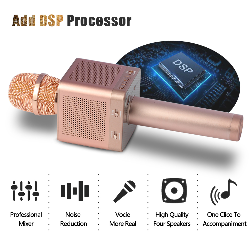 Car Phone Speaker Microphone Wholesale Suppliers Alibaba Micgeek Ktv Q9 Bluetooth Wireless With