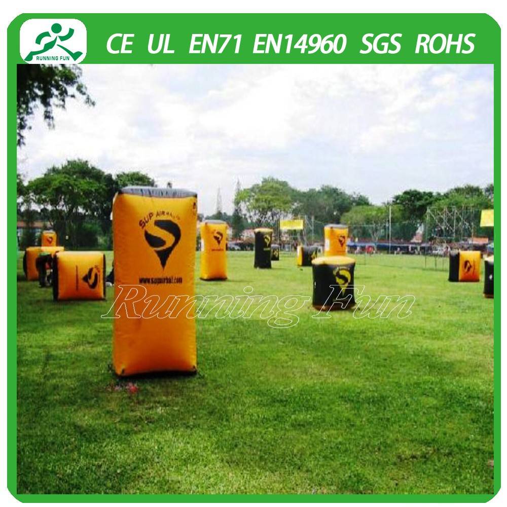 Inflatable Paintball Game Online, Inflatable Paintball Bunkers Set