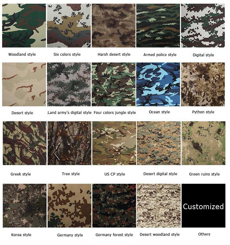 Камуфляжи и их названия в картинках словам