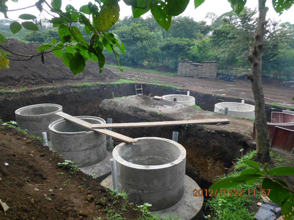 new tecnology 2015 biogas digester with balloon for cow poultry farm project