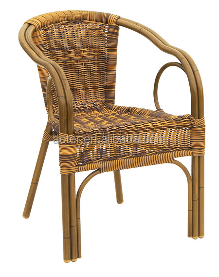 rooms to go outdoor furniture high back arm rattan chair aluminum metal cafe chairs