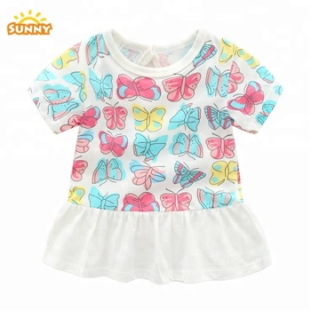 New style T Shirt Fashion T Shirt dress For Child girl