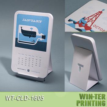 Wt-cld-1605 Unique Desk Calendar Design - Buy Unique Calendar ...