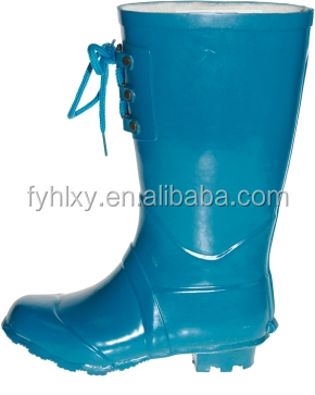 rain boots with lace girls fancy boots western rubber rain boots