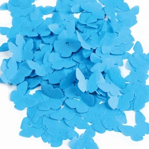 Wholesale Party Decoration Custom Shape Tissue Paper Butterfly Confetti