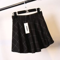 Newest style classical ladies short jean skirt