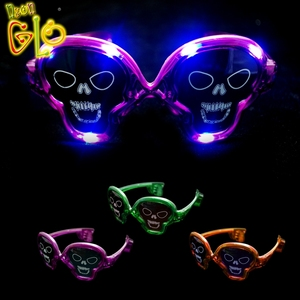 Halloween Decor Sunglasses Cheap LED Party Glasses